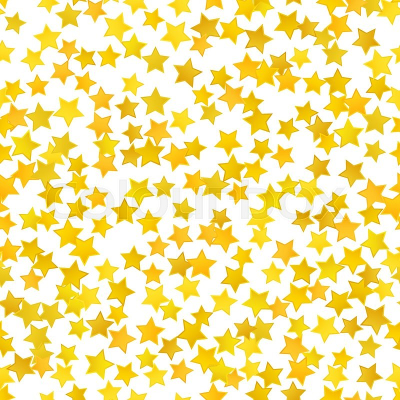 abstract yellow star background vector illustration for gold design