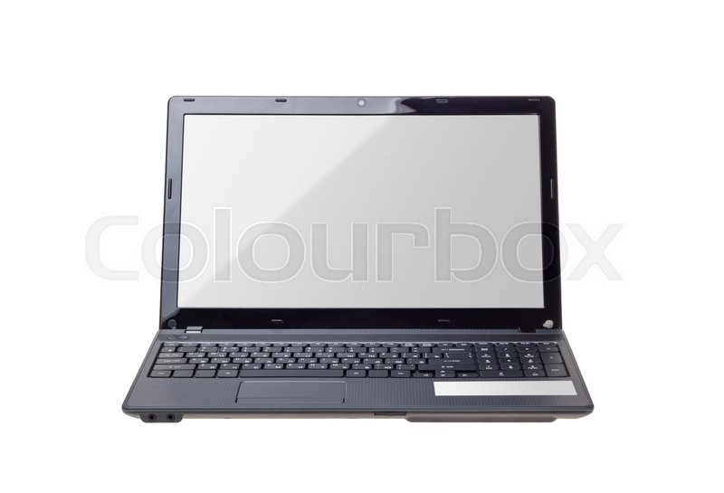 Stock Bild von 'keyboard, display, monitor'