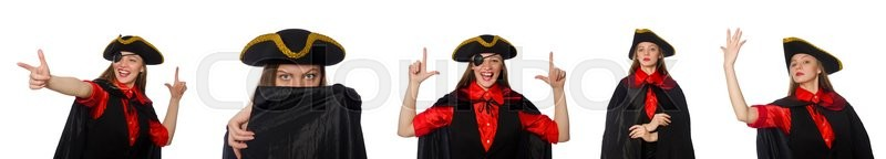 Stock Bild von 'pirat, halloween, hut'