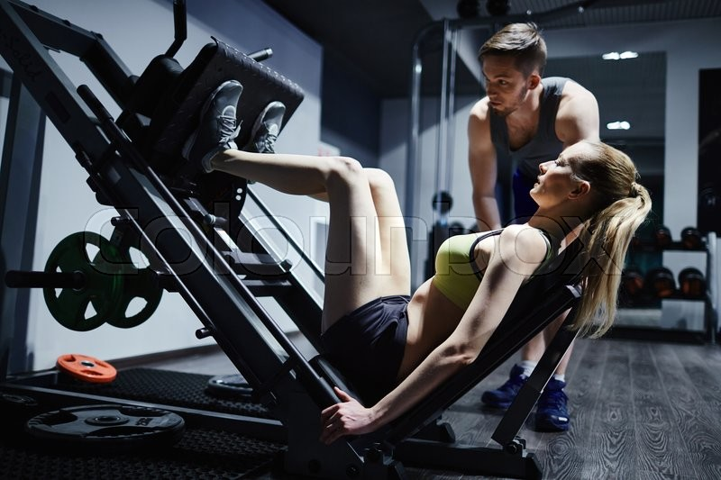 Stock Bild von 'fitness, workout, work-out'