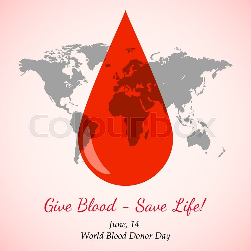 Vector transparent drop of red blood over world map element for the vector transparent drop of red blood over world map element for the world blood donor day and other medical projects and design drop of blood icon gumiabroncs Choice Image