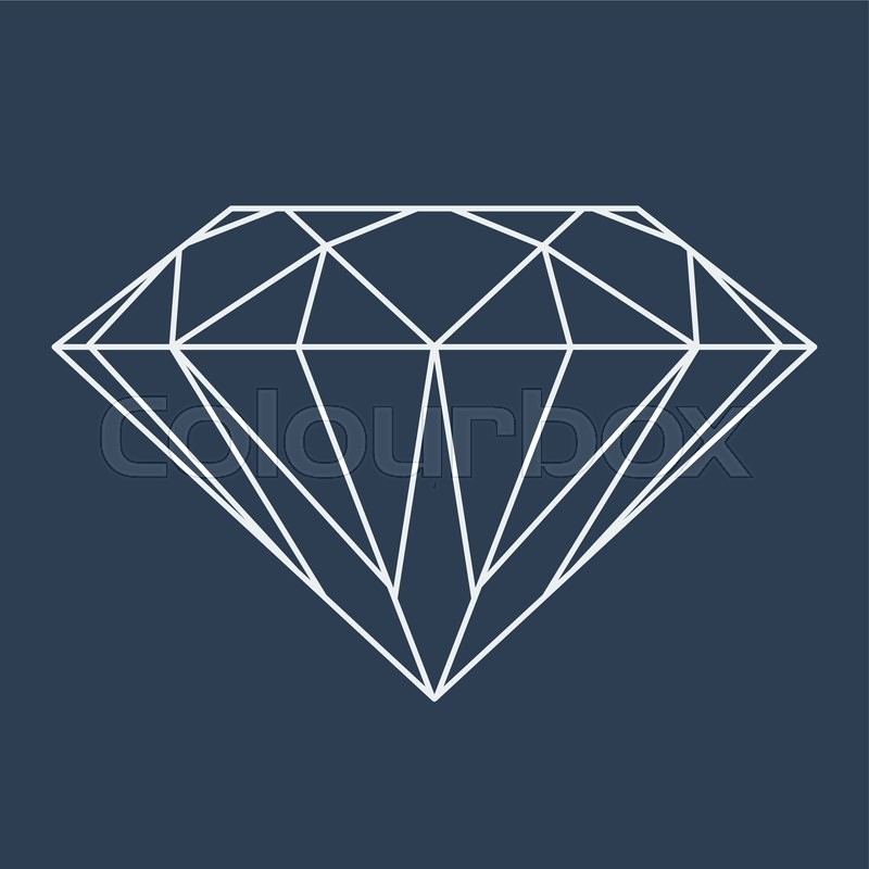 logo diamond blaque