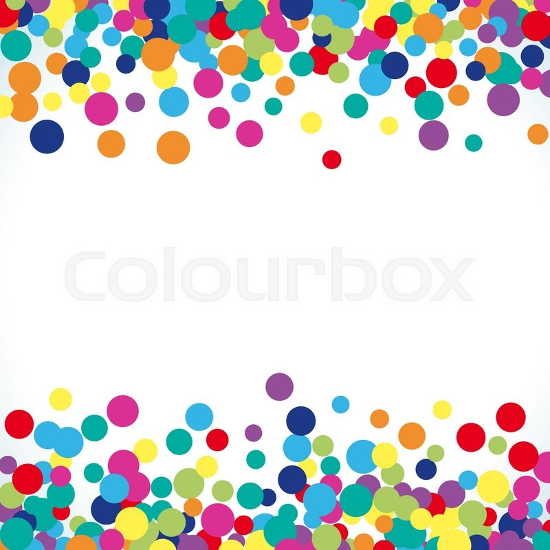 Colorful abstract dot background vector illustration for bright vector illustration for bright design circle art round backdrop modern pattern decoration color texture holiday element wallpaper decor fun spot card voltagebd Gallery