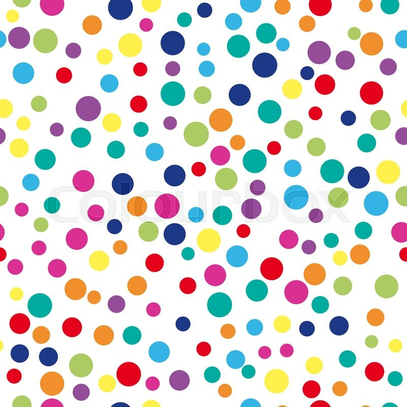 Colorful abstract dot background vector illustration for for Fun pattern wallpaper