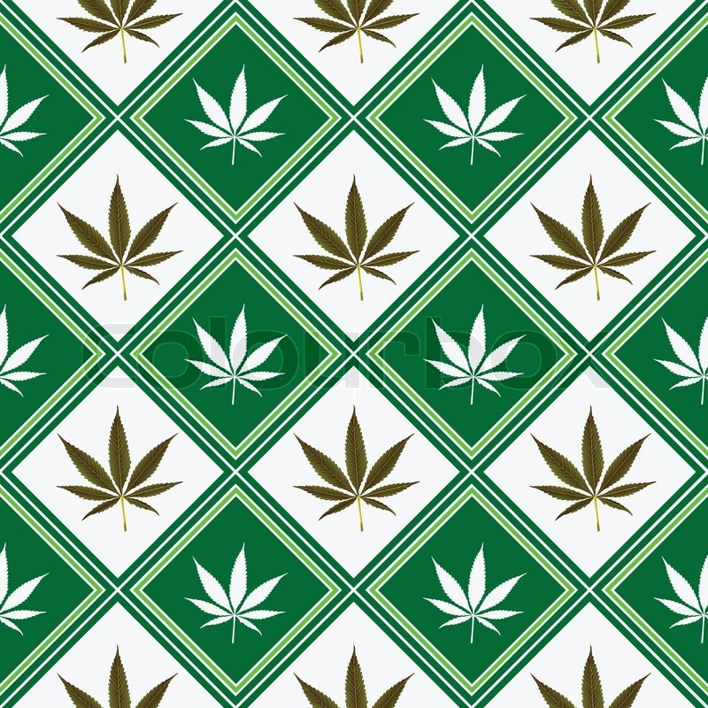 Cannabis seamless texture abstract pattern vector art for Design patterns for pot painting