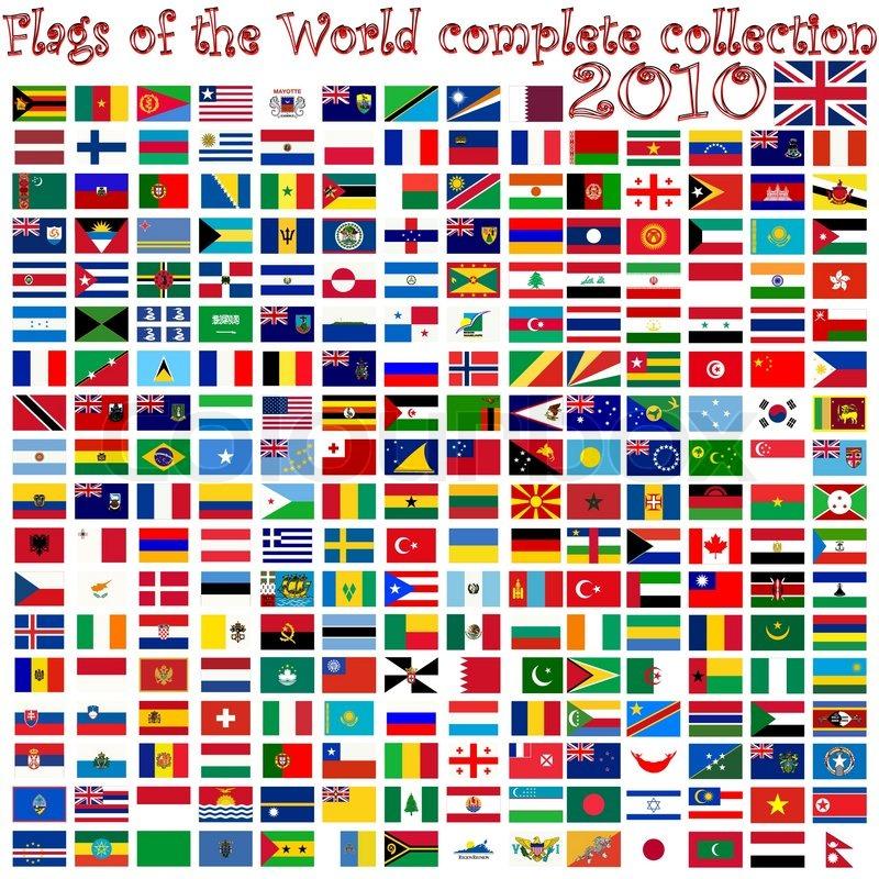 World Flags Clip Art
