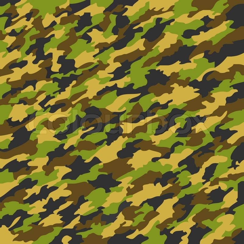 Camouflage texture, abstract vector art illustration   Stock Vector ...
