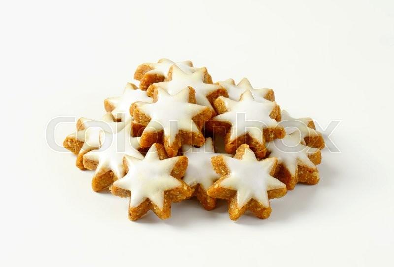 Zimtsterne Cinnamon Stars Stock Image Colourbox