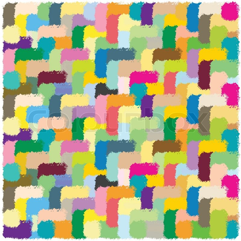 Carpet Texture Abstract Vector Art Stock Vector