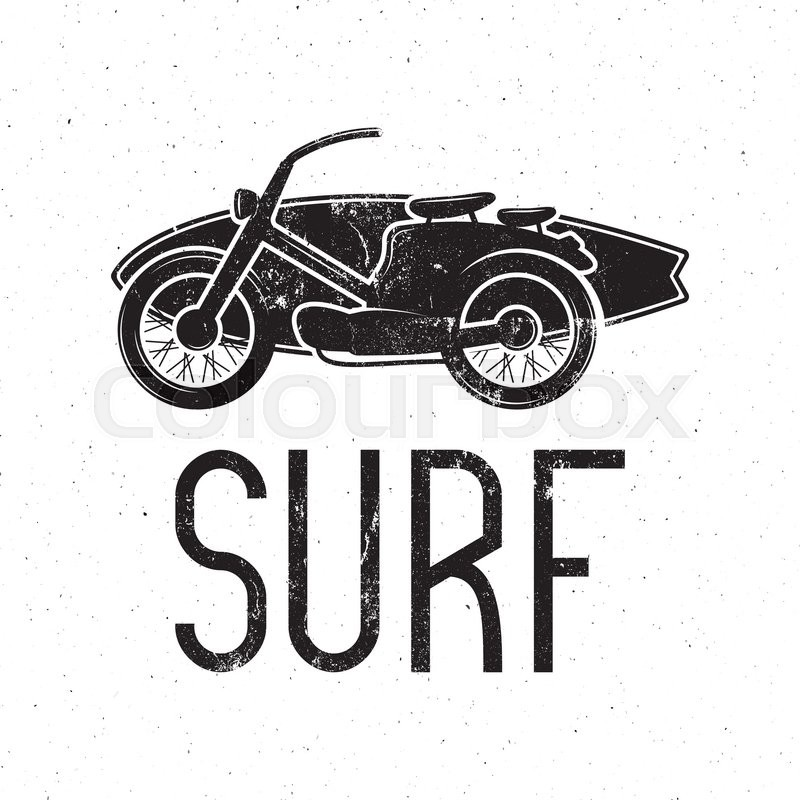 Vintage Surfing Tee Design Retro Surf Fest T Shirt Graphics And Emblem For Web