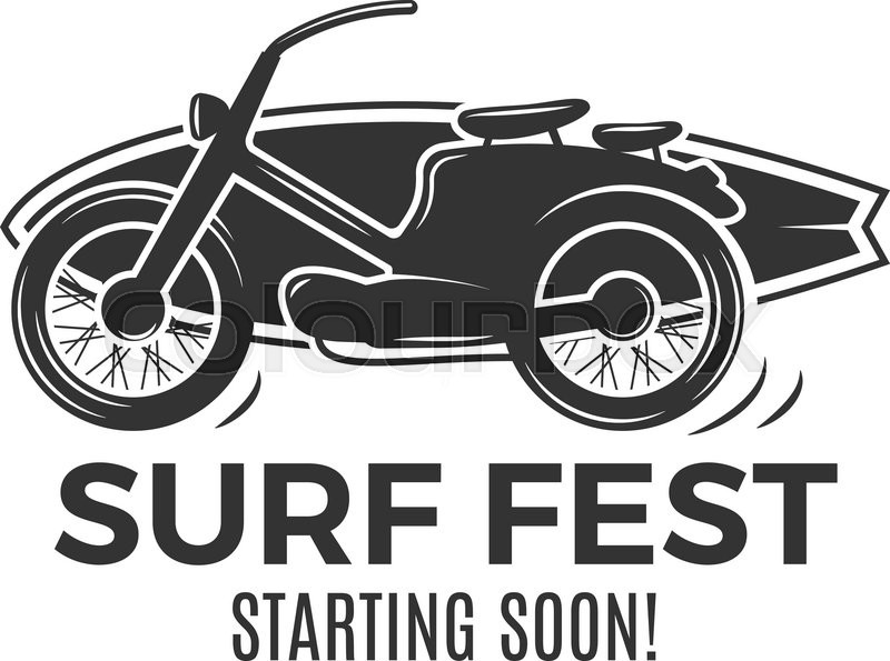 vintage surfing tee design retro surf fest tshirt graphics and