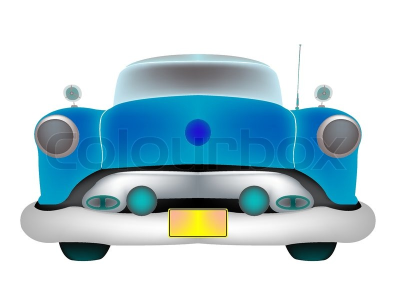 Car Abstract Art Vector