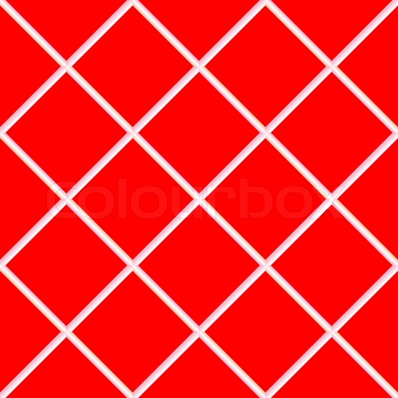 Red Seamless Ceramic Tiles Abstract Texture Art