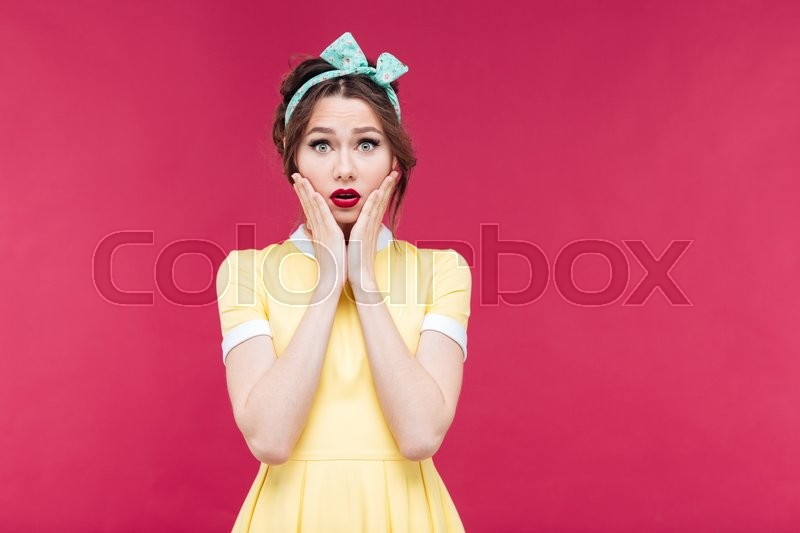 Stock Bild von 'pin-up-, fashion, mode'