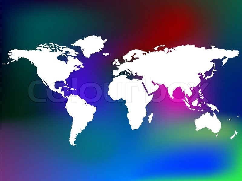 Unique abstract background and world map art illustration stock unique abstract background and world map art illustration stock photo colourbox gumiabroncs Choice Image
