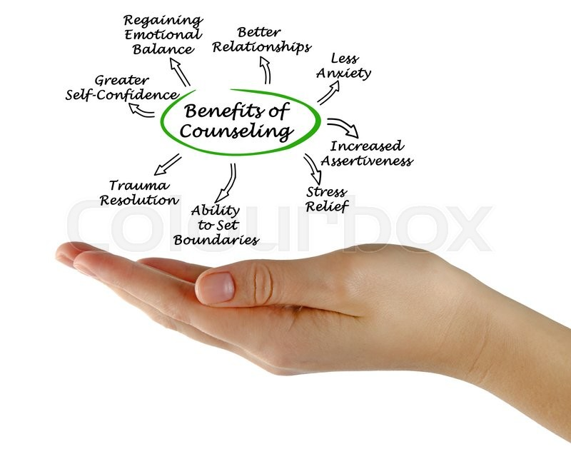 Stock image of 'Benefits of Counseling'