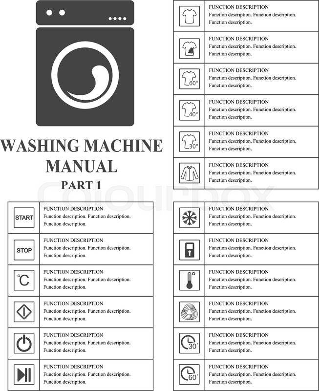 Oven Manual Symbols Part 1 Instructions Signs And Symbols For