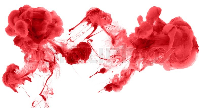Stock image of 'Acrylic colors and ink in water. Abstract background.'
