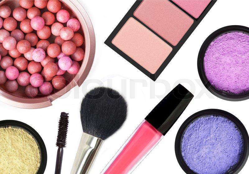 kosmetik make up produkten auf stockfoto colourbox. Black Bedroom Furniture Sets. Home Design Ideas