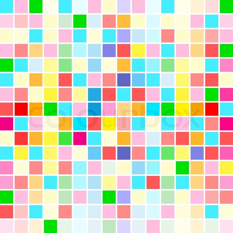 The Beautiful Rainbow Colors Random Stock Vector Colourbox