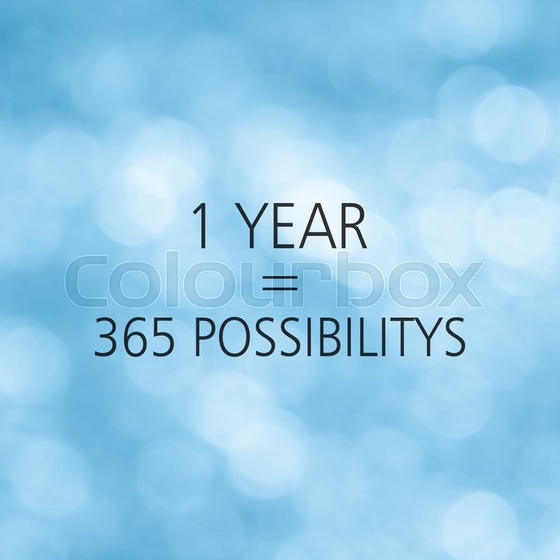 Stock image of 'Life quote or Inspirational quote with blurred blue background.'