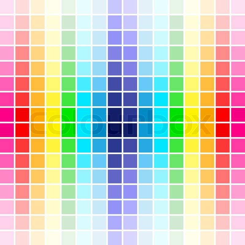 The beautiful gradient rainbow colors palette, background ...