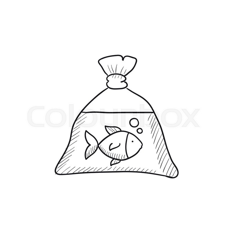 Front Pouch Short Fishes