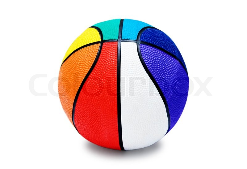 Multi Colored Basketballs Multi-colored Basketball