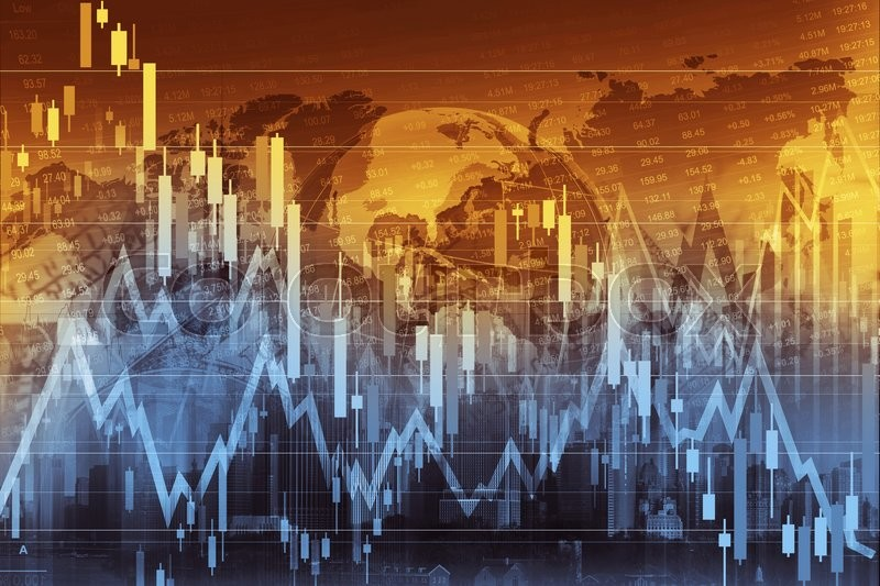 Stock image of 'Business Trading Concept Illustration. Global Economy and the Stock Markets.'