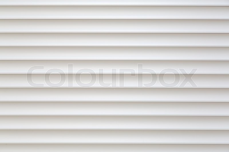 Stock image of 'Pure and clean white striped jalousie background, copy space'