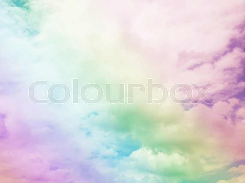 Stock image of 'Colorful cloud sky abstract background, Beautiful color cloud sky background, Abstract colorful cloud sky background.Beautiful blue sky and white cloud represent the sky and cloud concept related idea'