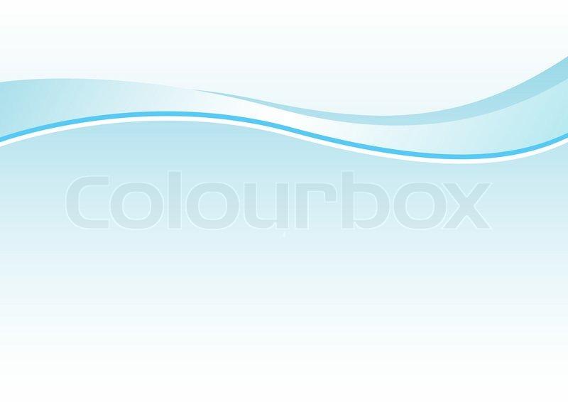 blaue abstrakte linie vektorgrafik colourbox. Black Bedroom Furniture Sets. Home Design Ideas