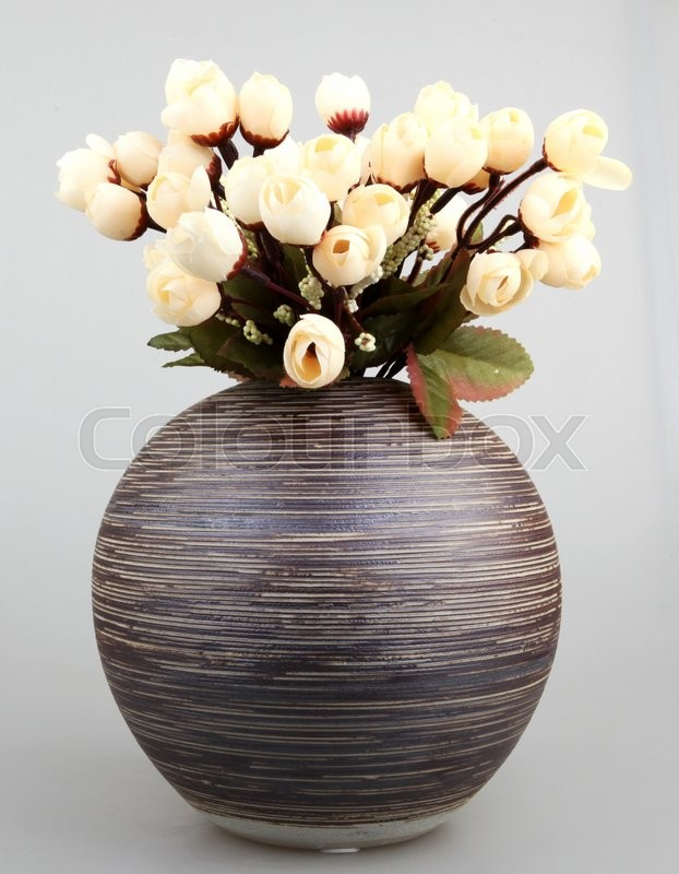 Stock image of 'Decoration artificial plastic flower.'