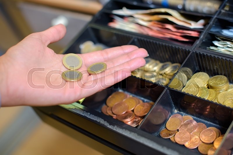 Stock image of 'Coins'