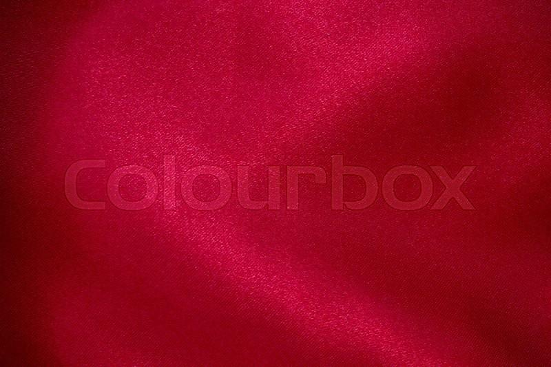 Stock image of 'Texture of red fabric background '