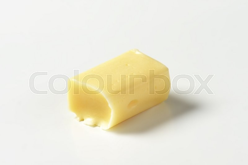 Stock image of 'Milk chewy candy on white background'