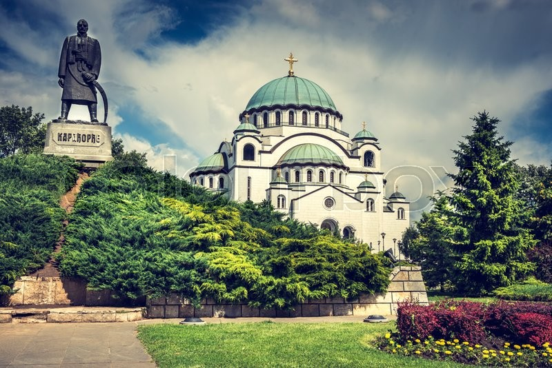 Stock image of 'The Cathedral of Saint Sava - is the largest Orthodox church in the world19169341