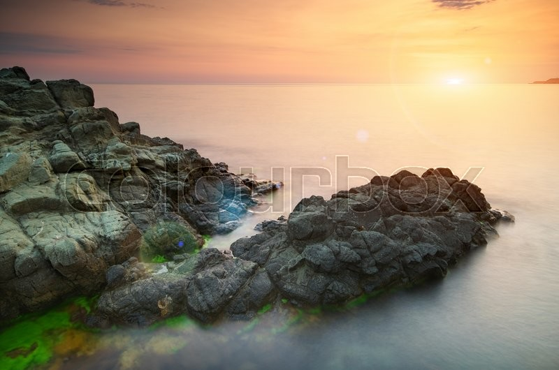 Stock image of 'Beautiful seascape. Composition of nature.'