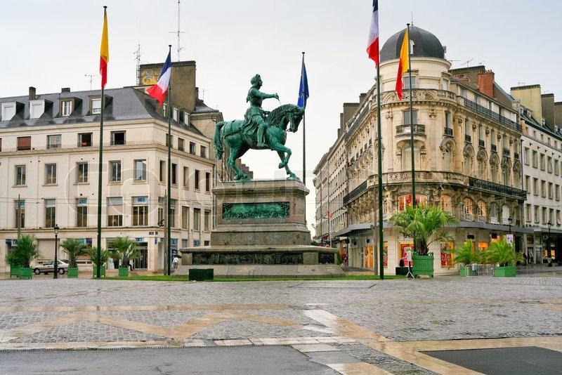 Image result for orléans place jeanne d'arc