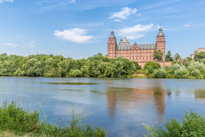 Stock image of 'Frankfurt Johannisburg palace, Aschaffenburg Germany'