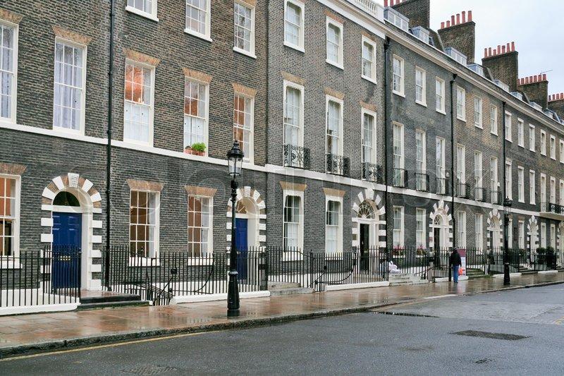 h user in london in bew lkten tag stockfoto colourbox. Black Bedroom Furniture Sets. Home Design Ideas