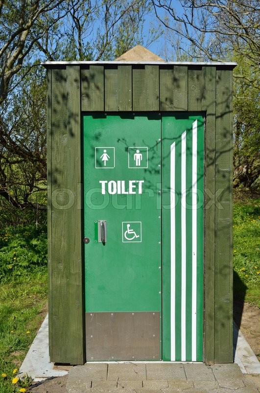 Stock image of 'afføring, kemiski_toilet, shed'