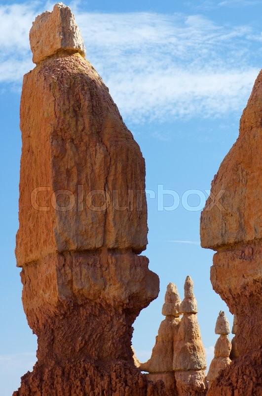 Stock image of 'Needles in Bryce Canyon National Park, Utah, Usa'