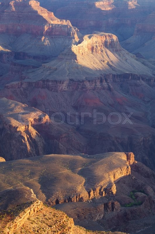 Stock image of 'Grand Canyon National Park, Arizona, Usa'