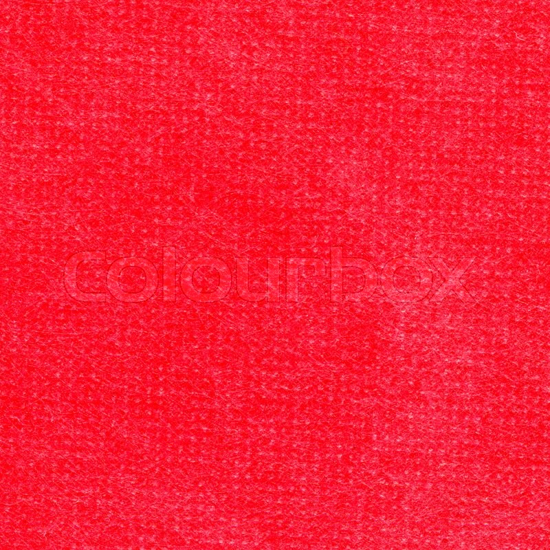 Stock image of 'Blank piece of red paper as background. Close-up.'