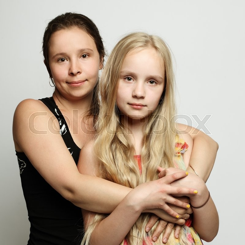 Stock image of 'Two women mother and daughter'