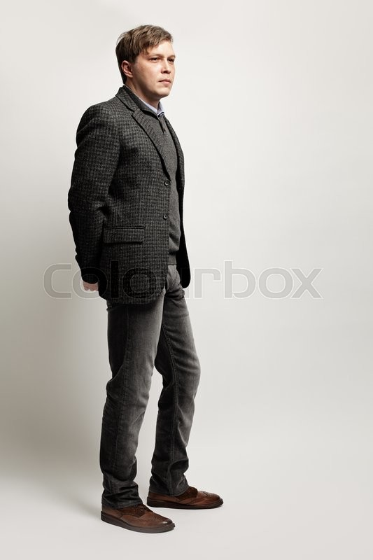 Stock image of 'Successful  Businessman. Portrait of Middle-aged Man'