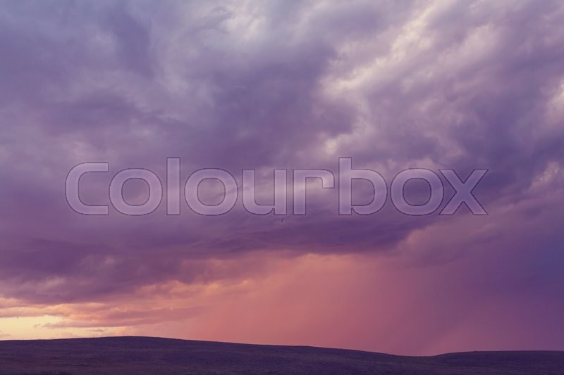 Stock image of 'Sunset scene'