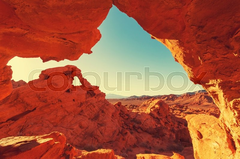 Stock image of 'Valley of Fire State Park, Nevada, USA'