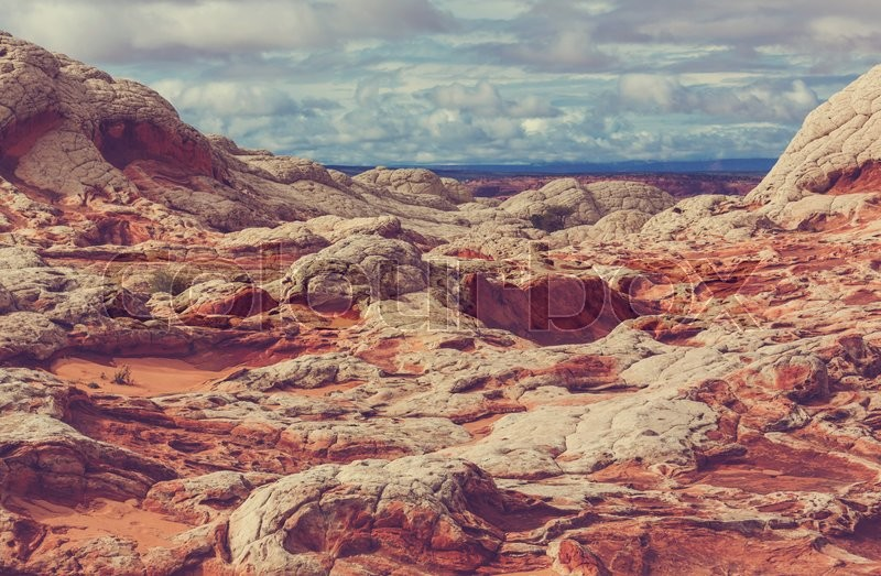 Stock image of 'Vermilion Cliffs National Monument Landscapes at sunrise'